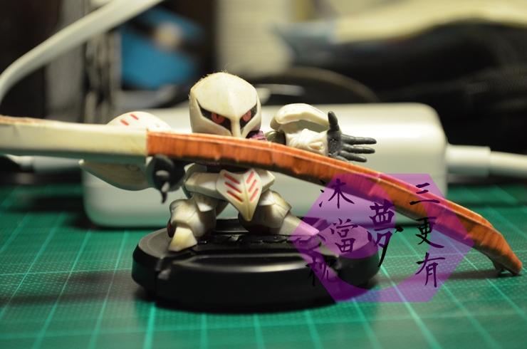 摺紙武士刀