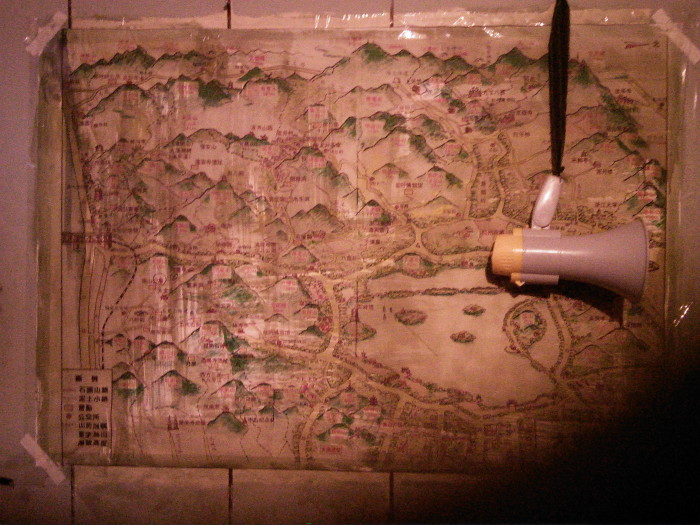 紅衣小女孩現場照片-地圖